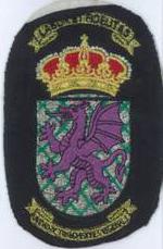 Escudo con dragón
