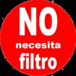 No Necesita Filtro